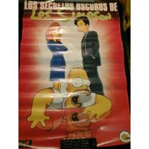 Los Oscuros Secretos De Los Simpsons (poster Promocional)