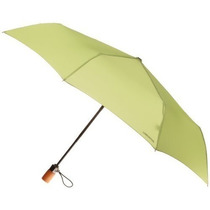 Sombrilla London Fog Auto Abrir Cerrar Umbrella Leaf, Un Ta