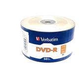 Dvd-r Verbatim 4.7gb 16x 120min 50 Discos Leer Descripción