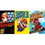 Super Mario Bros 1 2 Y 3 Nes Para Tu Computadora + Android(: