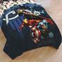 Avengers Marvel Colcha Sobre Cama Individual Importada