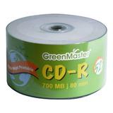50 Cd Imprimible Green Master 700mb 52x 80min Full