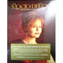 Rocio Durcal - Una Estrella En El Cielo Libro Cd & Dvd Nuevo