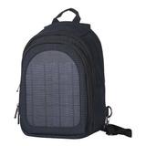 Mochila Resistente Con Panel Solar Carga Celular Viaje
