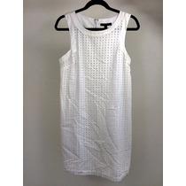 Vestido Casual Dama Marca Banana Republic Color Blanco.