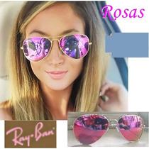 Lentes Rosas Aviador, Rosado.