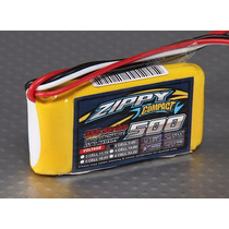 Bateria Lipo 500mah 7.4v 2s 35c Zippy Compac Recargable Pila