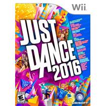 Just Dance 2016 Nintendo Wii Gaming Nuevo En Caja