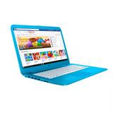 Laptop Hp Stream 14 Intel 64gb Ssd 4gb Ram Azul