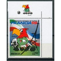 Sc 2068 Año 1998 Mascota Aguigol Con Etiqueta
