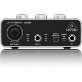 Interface Behringer U-phoria Um2 Usb 2x2 Envio Inmediato +