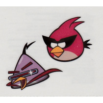 Tatuajes Temporales Angry Birds Space, Maa