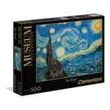 Noche Estrellada Van Gogh Museo Rompecabezas 500 Clementoni