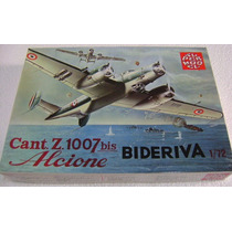 Avión Cant.z 1007 Bis Biderva Esc. 1/72 Italeri Nuevo!.