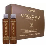 Alfaparf Ampolletas Capilares Hidratantes Chocolate 12 Pzas