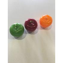 Velas Aromáticas En Forma De Manzana Varios Colores