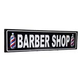 Barber Shop Peluqueria Cuadro Cartel Carretera Señalamiento