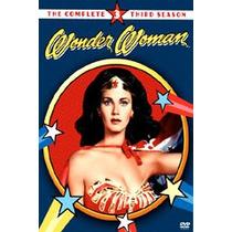 Dvd Mujer Maravilla: Tercera Temporada : Lynda Carter