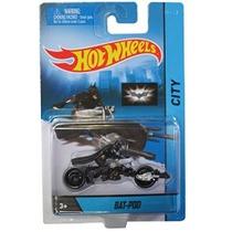Hot Wheels Ciudad 2014 Motocicleta Colección Bat-pod W / Bat