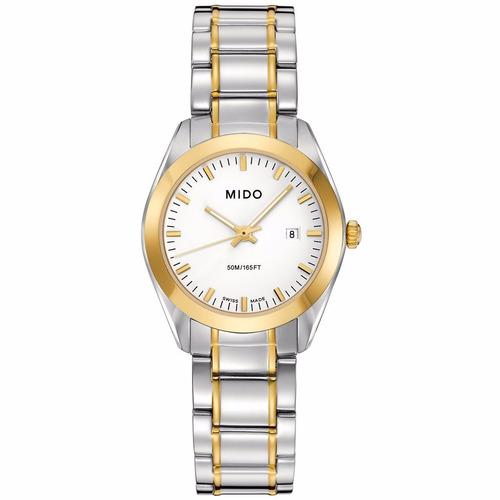 6174f45f01f8 Reloj Mido M0122102201100 Plata dorado Original Para Dama   6599 ...
