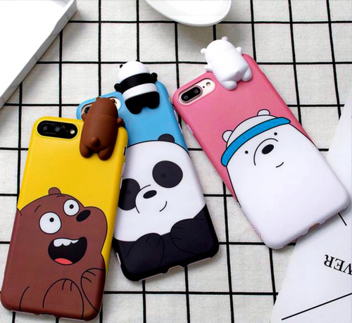 Case Funda iPhone 6 6 7 7 8 8 X Xs Xr Max Oso Escandaloso