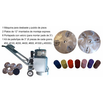 Sistema Pulido De Pisos Kits Diamantados Desbaste Concreto