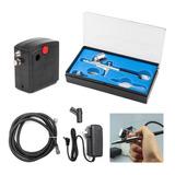 Sistema De Aerografía Compresor + Aerografo Kit