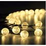 Luces Solares Led Decorativas Para Exteriores 19,7 Pies 30 L