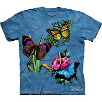 Playera 4d - Unisex Infantiles - 1308 Winged Collage
