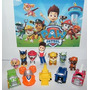 Nickelodeon Paw Patrulla Deluxe Mini Toy Figura Set De Juego