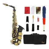 Saxofón Alto Lade Eb E Plano De Latón Grabado