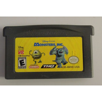 Monsters Inc Para Gameboy Advanced