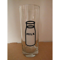 Vaso Leche Milk By Propaganda Souvenir Kitchen Cocina Retro