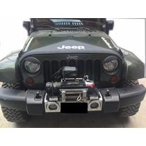 Antifaz Para Cofre Jeep Wrangler Jk Protector Con Logo Jeep