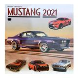 Revista Calendario 2021 Autos Mustang, Mod 1
