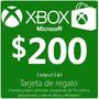 Tarjeta Xbox Live $200 En Computlán
