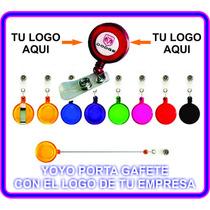 Yoyo Portagafete Con Tu Logo Somos Fabricantes No Pages +
