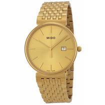 Reloj Mido Dorada Acero Dorado M0096103302100
