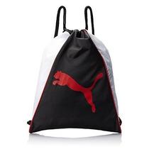 Morral Gato Carrysack Puma Hombres Bolsa Negro / Gris, Un