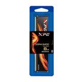 Memoria Adata Ddr4 8gb 2400 Xpg Flame Pc4-19200 Discipador