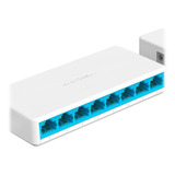Switch 8 Puertos Mercusys Ms108 Ethernet Rj45