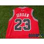 Jersey Basquetbol Bulls Chicago Toros Roja Michael Jordan 23