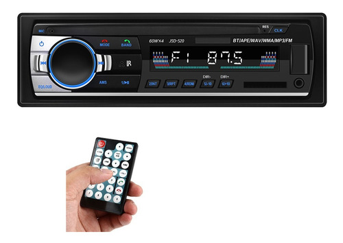 Reproductor Mp3 De Auto Con Bluetooth Auxiliar Inalámbrico