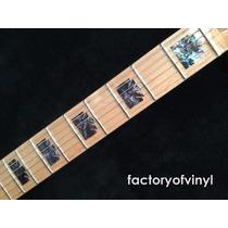 (*) Inlays Stickers Royal Crowns Natural Para Guitarra