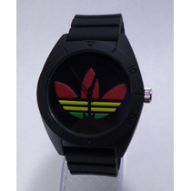 Reloj Hombre Adidas Excelente Negro Regalo Reggae