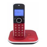 Teléfono Inalámbrico Motorola Gate4800-2 Rojo