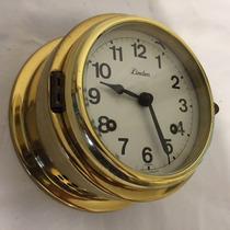 Hermoso Reloj Alemán Linden Barco Marinero Vintage