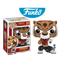 Tigresa Kung Fu Panda Funko Pop Tigress Po Abbastanza
