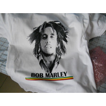 Playera Bob Marley Talla Ch, M, G, Xl, Junior, Chinos