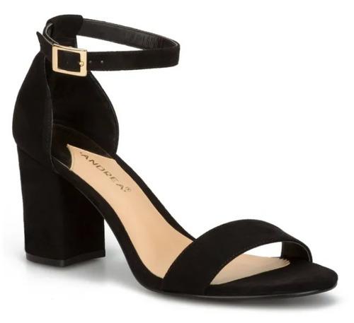 1721d2a9 Zapatilla Zapato Mujer Negro Andrea Modelo 2504568
